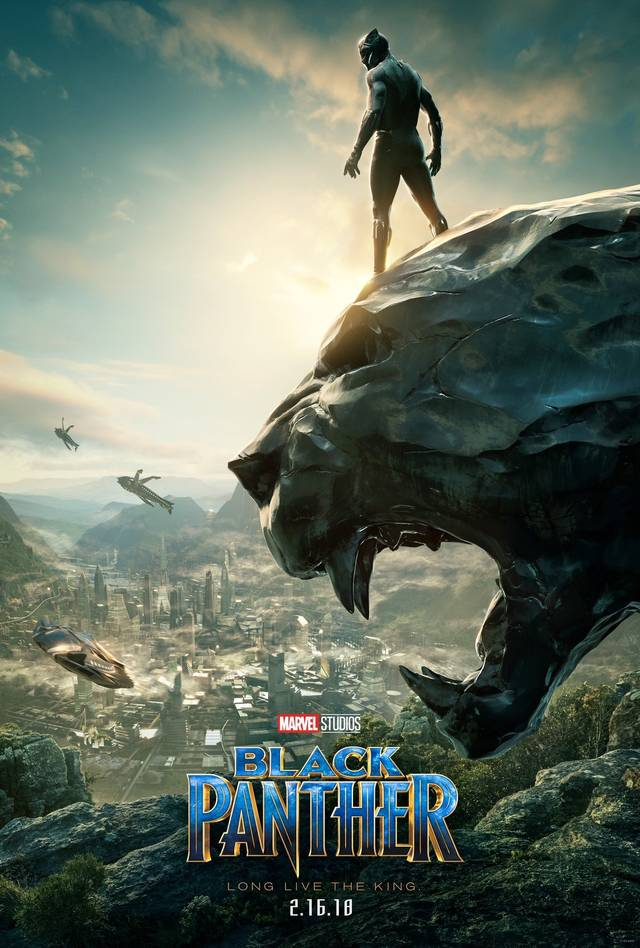 black panther poster sdcc17