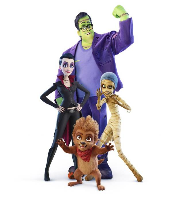 Monster Family film d'animazione Characters
