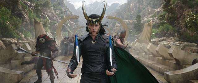 Thor - Ragnarok Tom Hiddleston foto dal film 2