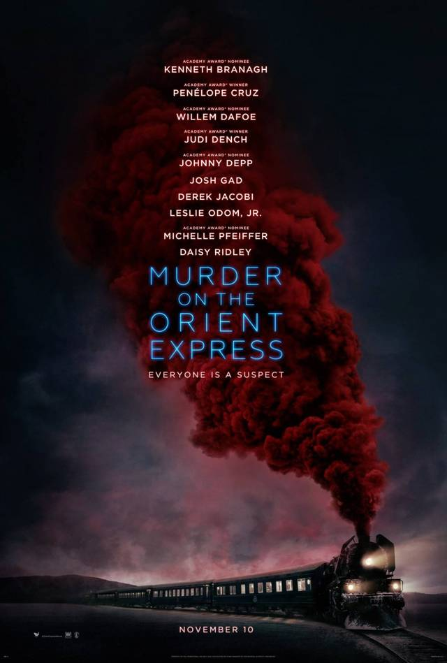 Assassinio sull'Orient Express Teaser Poster Spagna