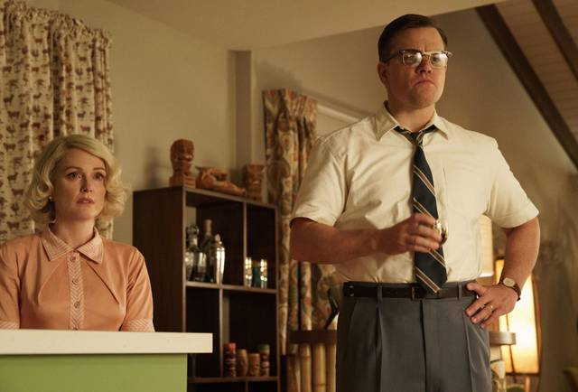 Suburbicon Julianne Moore Matt Damon foto dal film 1