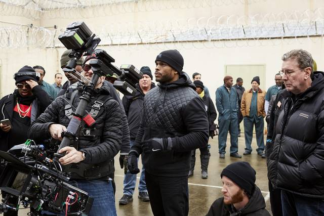 All Eyez on Me Benny Boom foto dal set 1