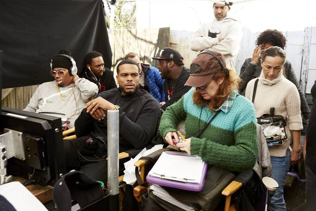 All Eyez on Me Benny Boom foto dal set 2
