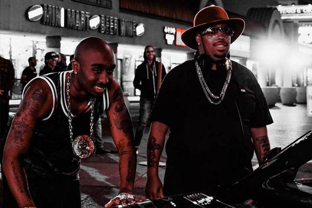 All Eyez on Me Demetrius Shipp Jr Dominic L. Santana foto dal film 3
