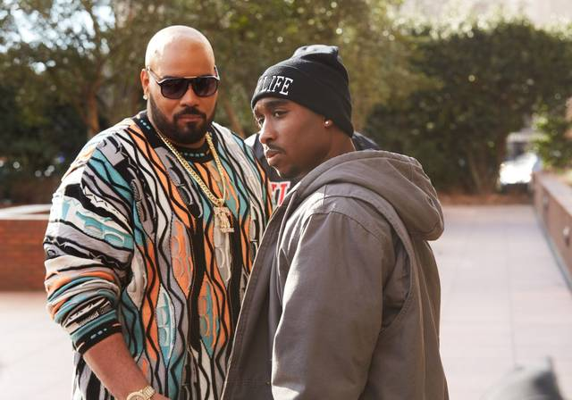 All Eyez on Me Demetrius Shipp Jr Dominic L. Santana foto dal film 4