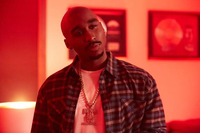 All Eyez on Me Demetrius Shipp Jr foto dal film 11