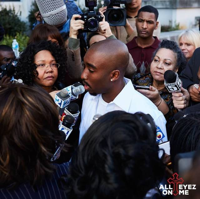 All Eyez on Me Demetrius Shipp Jr foto dal film 15