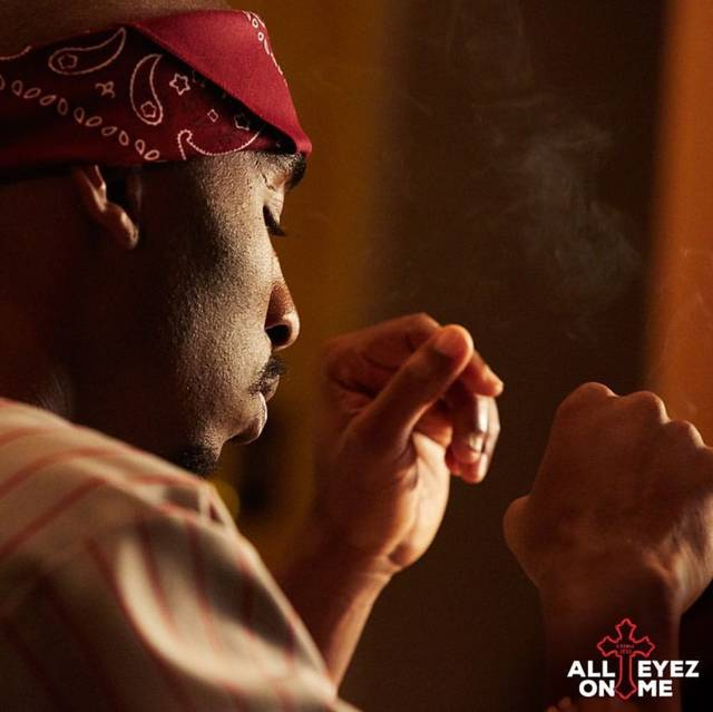 All Eyez on Me Demetrius Shipp Jr foto dal film 16