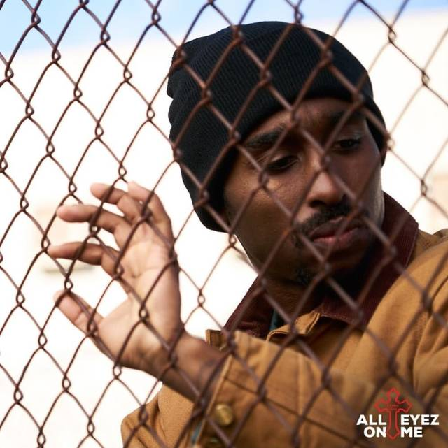 All Eyez on Me Demetrius Shipp Jr foto dal film 1