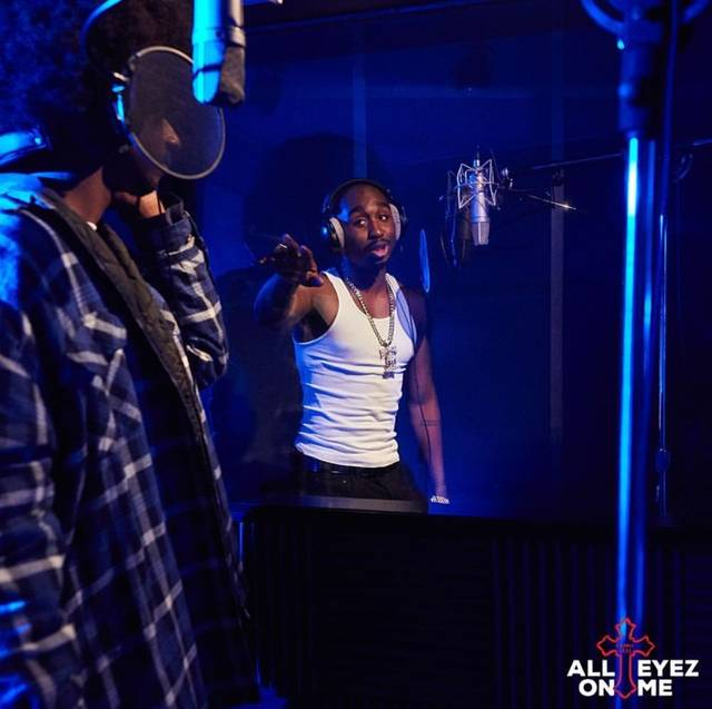 All Eyez on Me Demetrius Shipp Jr foto dal film 21