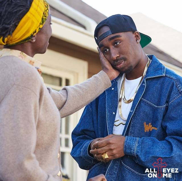 All Eyez on Me Demetrius Shipp Jr foto dal film 23