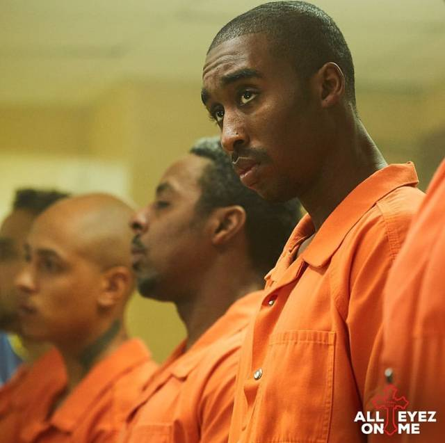 All Eyez on Me Demetrius Shipp Jr foto dal film 24