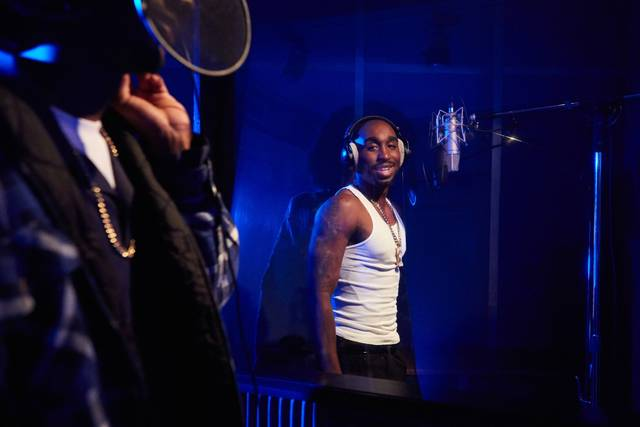 All Eyez on Me Demetrius Shipp Jr foto dal film 25