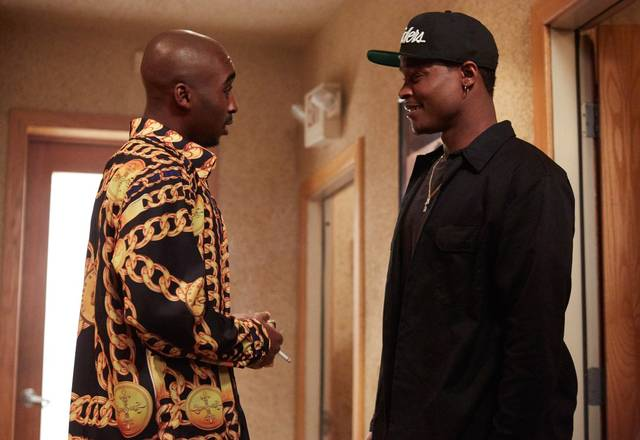 All Eyez on Me Demetrius Shipp Jr foto dal film 3