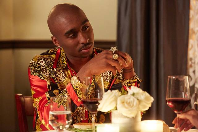 All Eyez on Me Demetrius Shipp Jr foto dal film 43