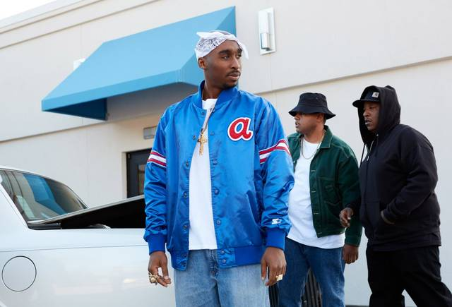 All Eyez on Me Demetrius Shipp Jr foto dal film 7