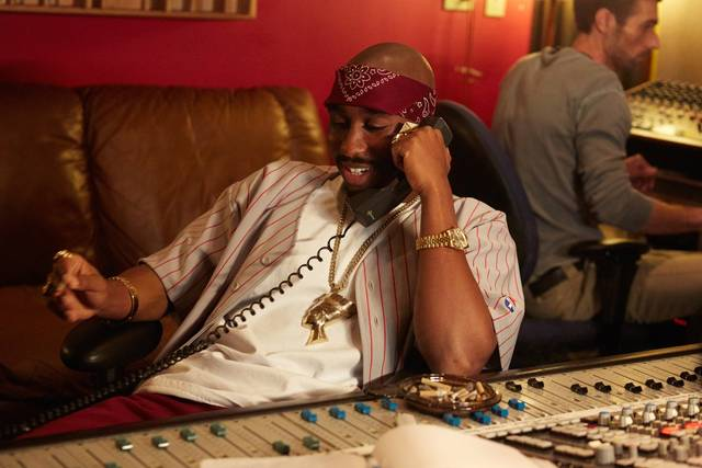 All Eyez on Me Demetrius Shipp Jr foto dal film 9