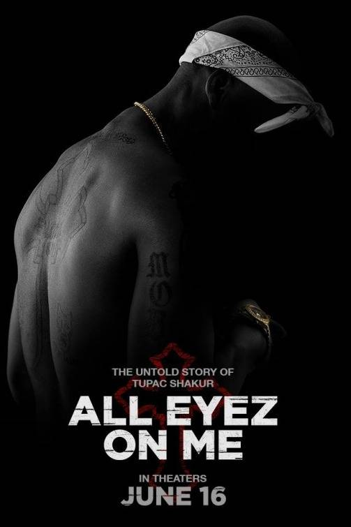 All Eyez on Me Teaser Poster USA 2
