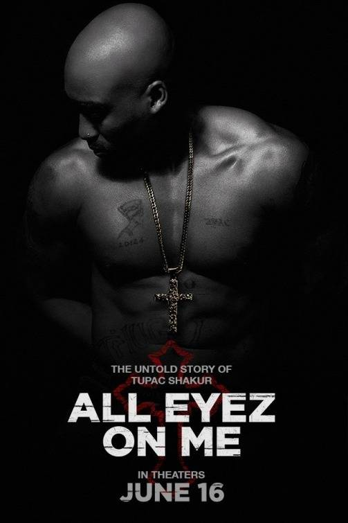 All Eyez on Me Teaser Poster USA
