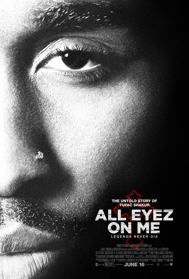 All Eyez on Me Poster USA