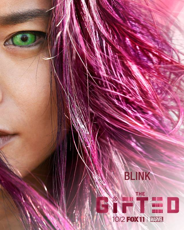 Il character poster di Blink