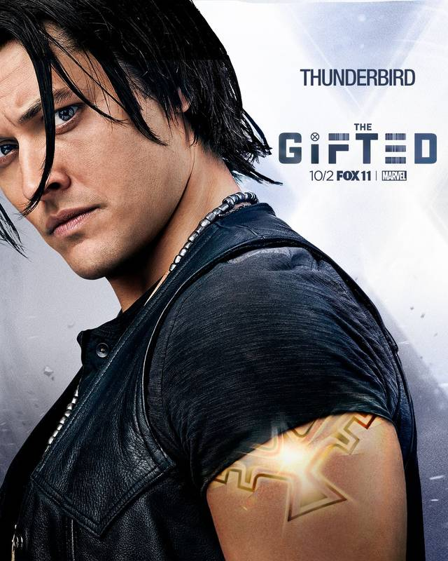 Il character poster di Thunderbird