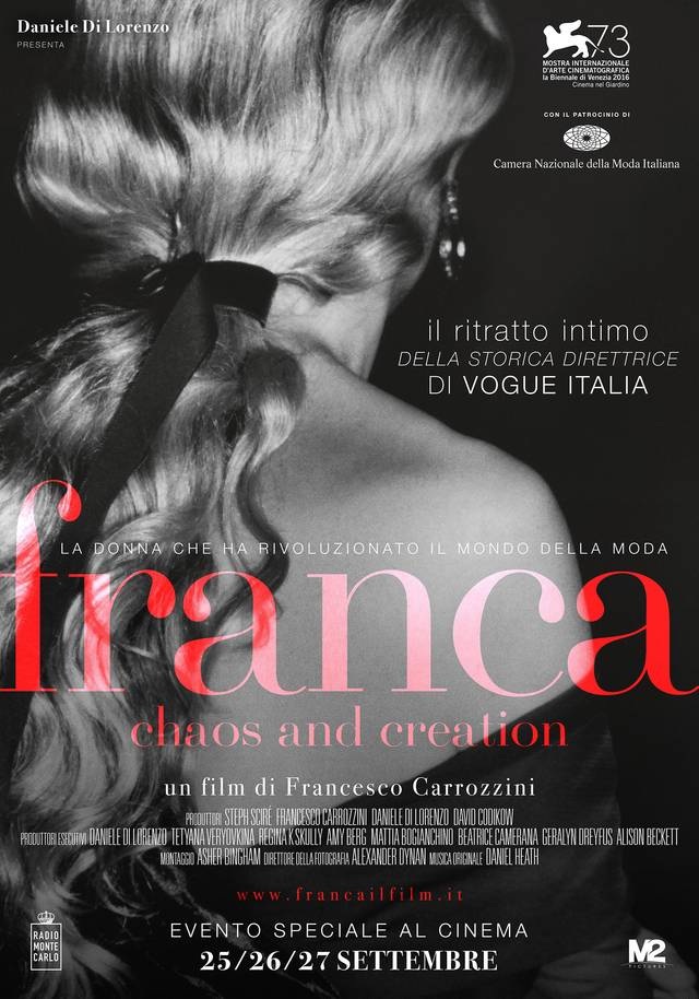 Franca Chaos and Creation Poster Italia