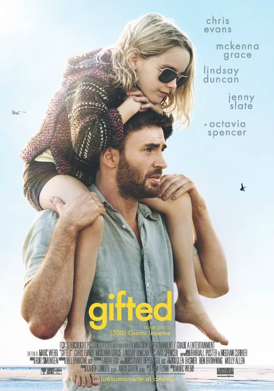 Gifted Teaser Poster Italia