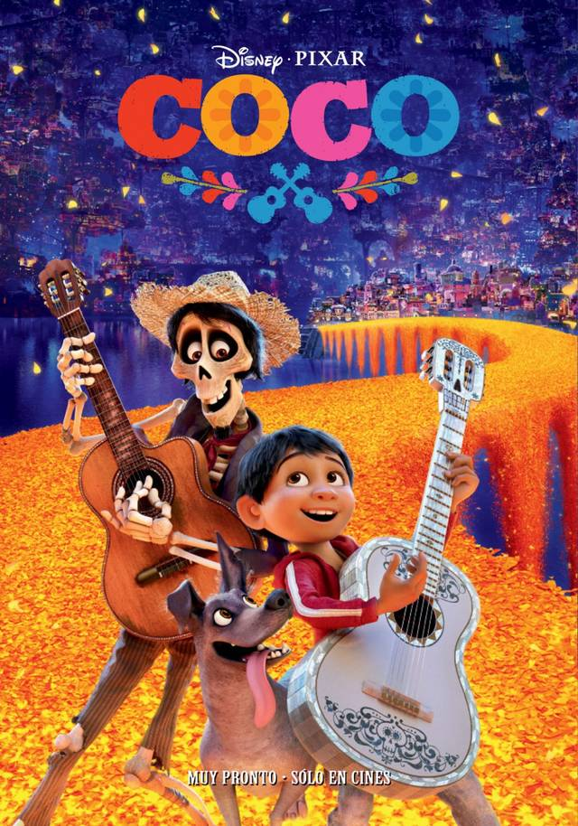 Coco Teaser Poster Spagna 1