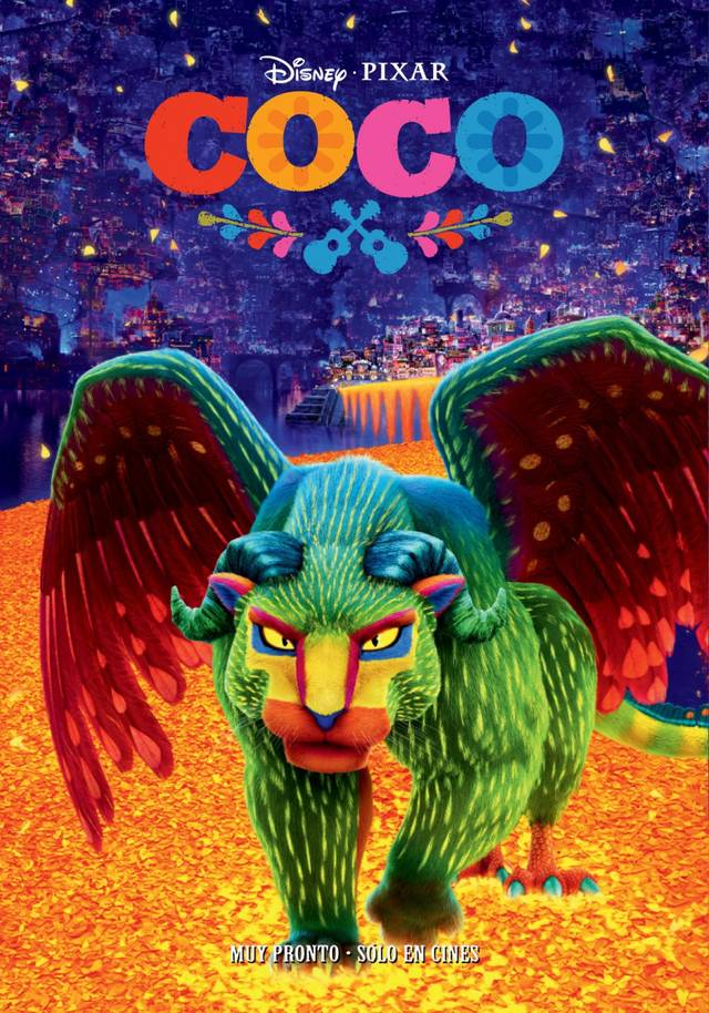 Coco Teaser Poster Spagna 2