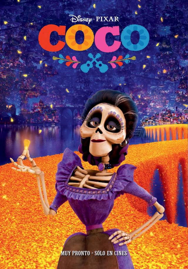Coco Teaser Poster Spagna 3
