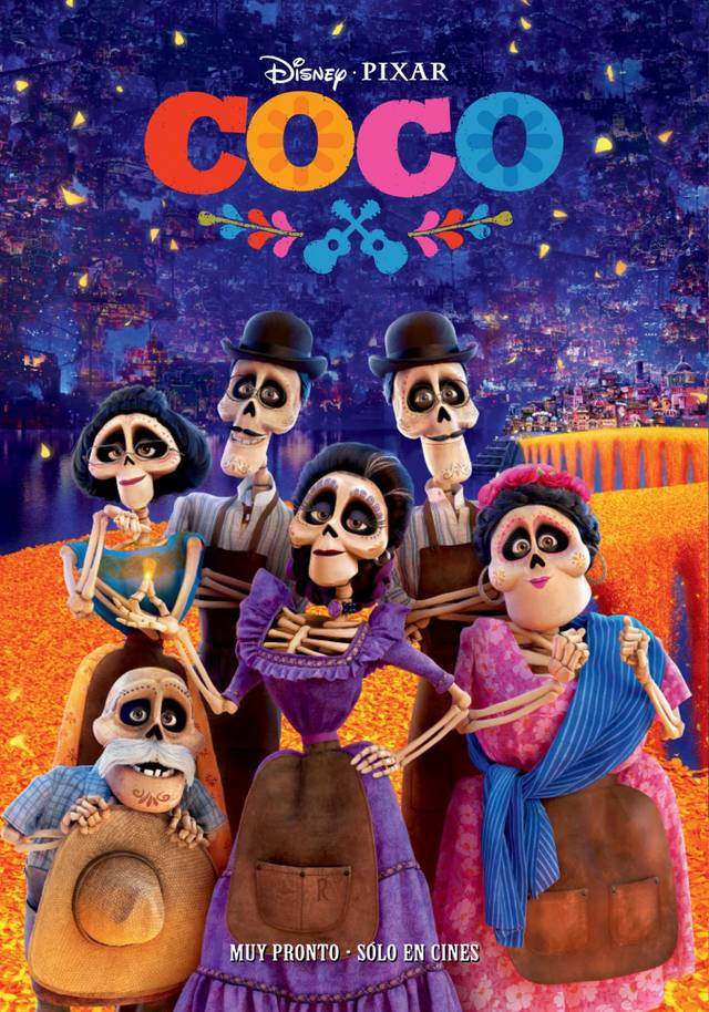 Coco Teaser Poster Spagna 4