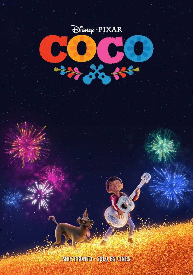 Coco Teaser Poster Spagna 5