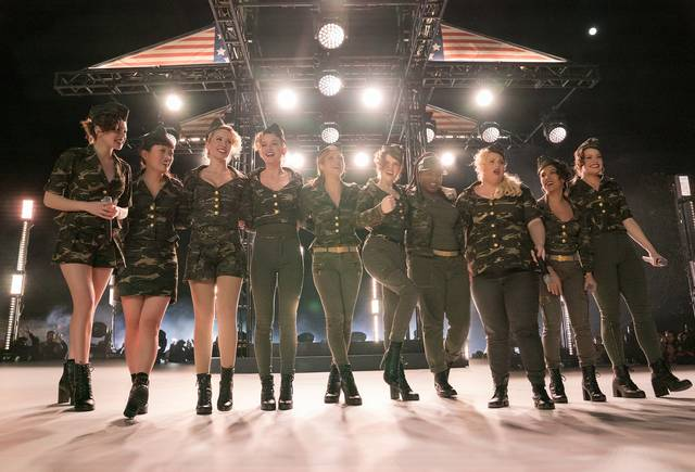 Pitch Perfect 3_Anna Kendrick Brittany Snow Rebel Wilson Anna Camp Hana Mae Lee Hailee Steinfeld Ester Dean Kelley Jakle Shelley Regner_foto dal film 4