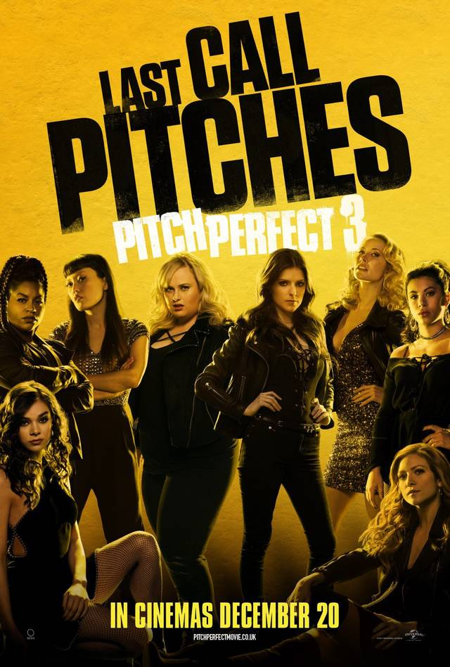 Pitch Perfect 3 Teaser Poster USA