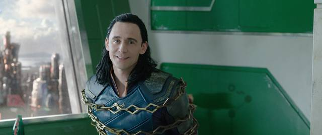 Thor - Ragnarok Tom Hiddleston foto dal film 3