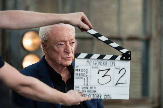 My Generation Michael Caine set dal film documentario foto 10
