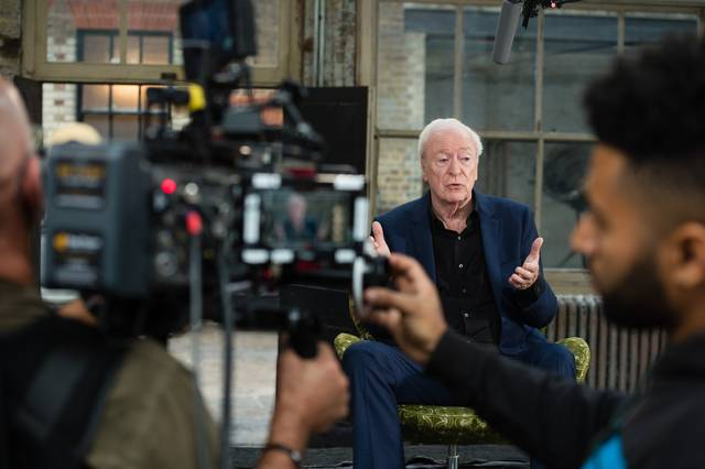 My Generation Michael Caine set dal film documentario foto 14