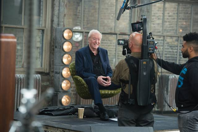My Generation Michael Caine set dal film documentario foto 15