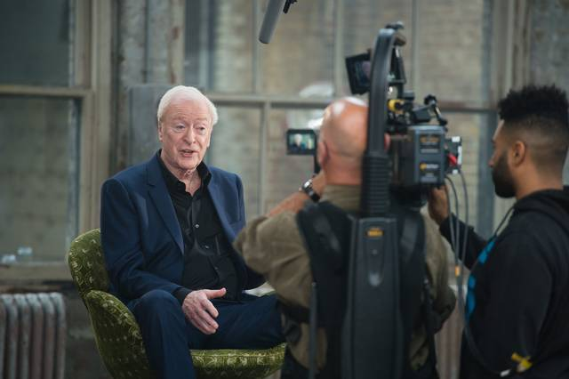 My Generation Michael Caine set dal film documentario foto 16