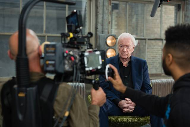 My Generation Michael Caine set dal film documentario foto 21