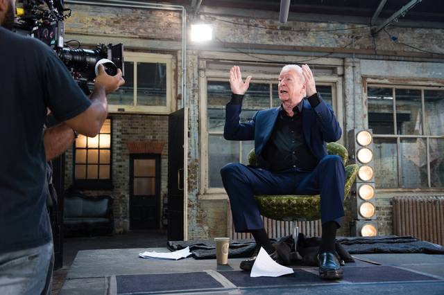 My Generation Michael Caine set dal film documentario foto 30