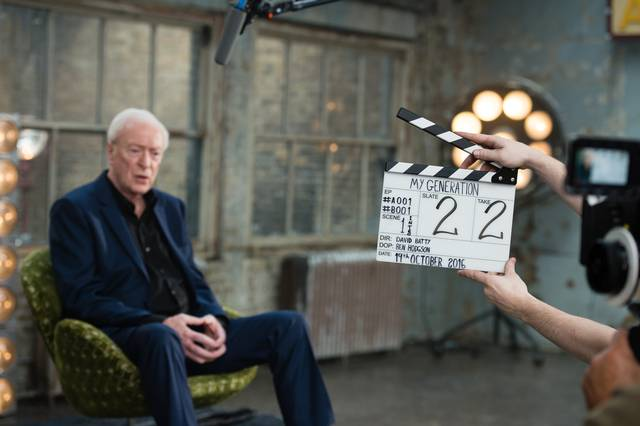 My Generation Michael Caine set dal film documentario foto 3