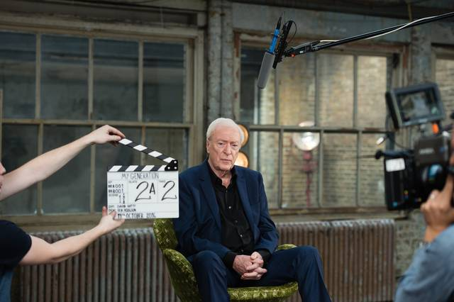My Generation Michael Caine set dal film documentario foto 5