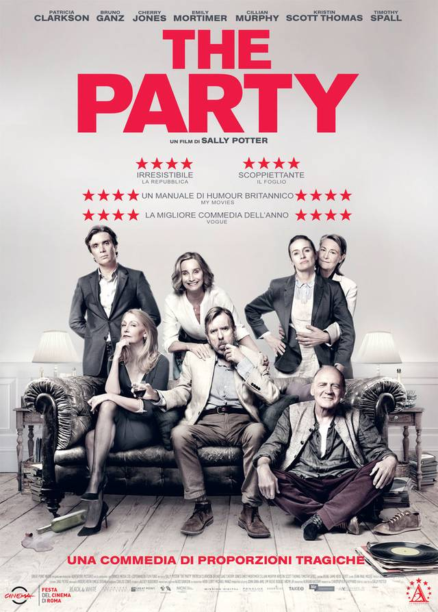 The Party Poster Italia