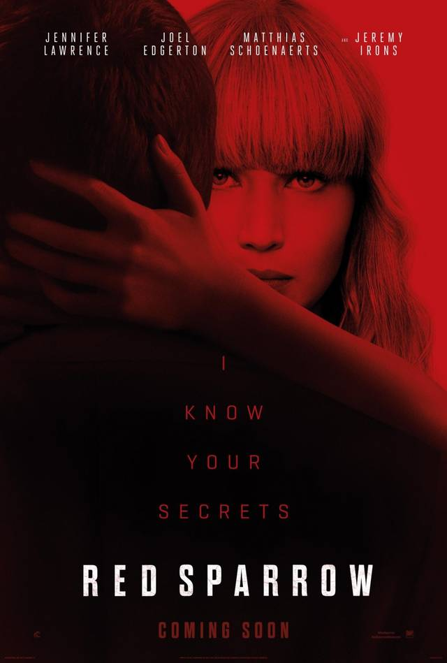 Red Sparrow Teaser Poster USA