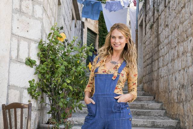 Mamma Mia! Ci risiamo_Lily James_foto dal film 13
