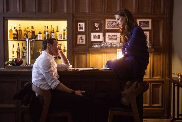 Submergence James McAvoy Alicia Vikander foto dal film 1