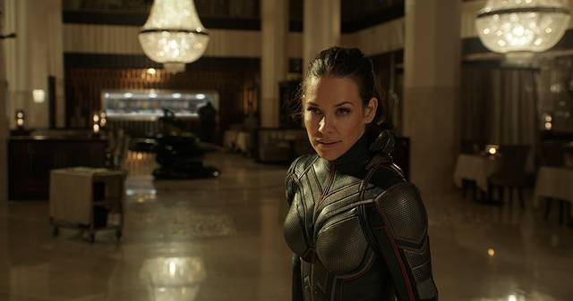 Ant-Man and the Wasp Evangeline Lilly foto dal film 1