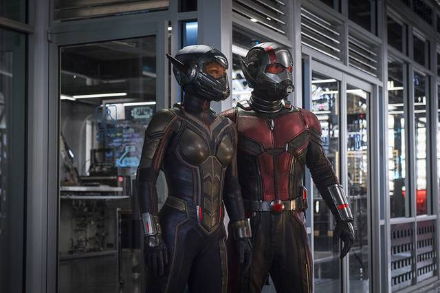 Ant-Man and the Wasp Paul Rudd Evangeline Lilly foto dal film 3